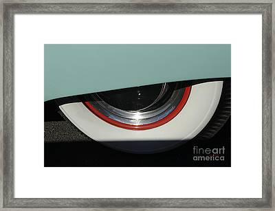 Lift Up Your Skirt Framed Print by Luke Moore