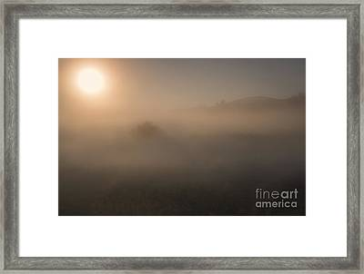 Lifting The Veil Framed Print by Mike  Dawson