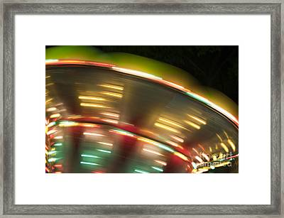 Light Abstract 9 Framed Print by Tony Cordoza
