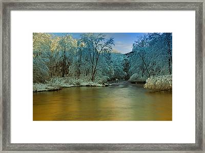 Light After The Storm Framed Print by Thomas Schoeller