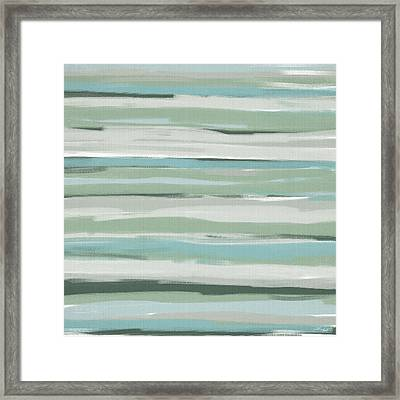 Light And Blue Framed Print by Lourry Legarde