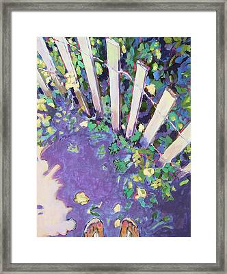 Light And Shadows Framed Print by Janet Ashworth