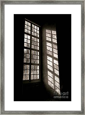 Light And Shadows Framed Print by Olivier Le Queinec