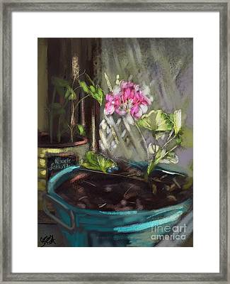 Light Framed Print by Carrie Joy Byrnes