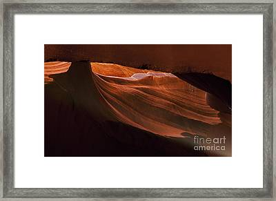 Light Chamber Framed Print by Mike Dawson