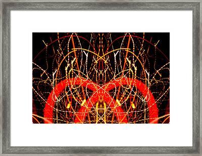 Light Fantastic 17 Framed Print by Natalie Kinnear