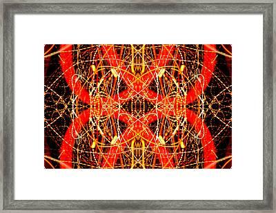Light Fantastic 26 Framed Print by Natalie Kinnear
