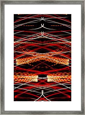 Light Fantastic 34 Framed Print by Natalie Kinnear