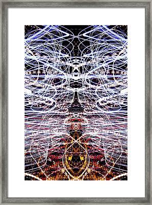Light Fantastic 38 Framed Print by Natalie Kinnear