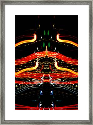Light Fantastic 39 Framed Print by Natalie Kinnear