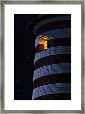 Light From Within Framed Print by Marty Saccone