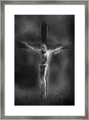 Light In The Darkness Framed Print by Steve K