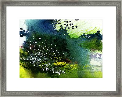 Light Music Framed Print by Anil Nene