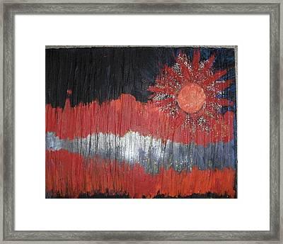 Light My Fire Framed Print by Anne-Elizabeth Whiteway