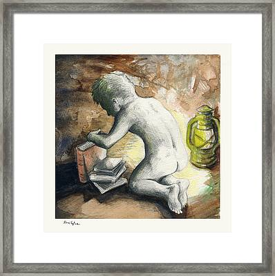 Light My Way Framed Print by Rene Capone