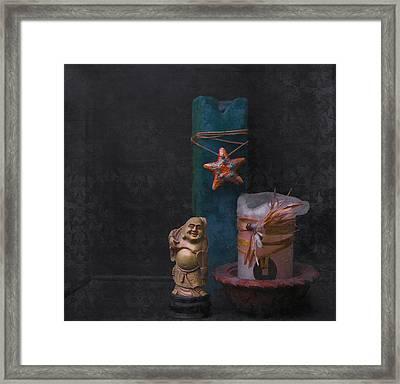 Light Of Buddha Framed Print by Kandy Hurley