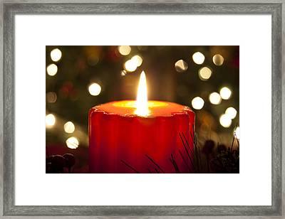 Light Of Christmas Framed Print by Andrew Soundarajan