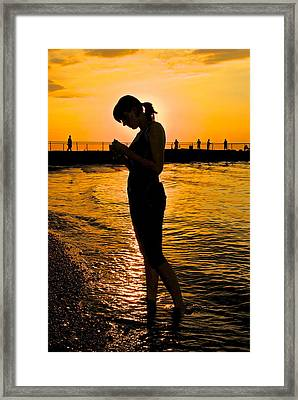 Light Of My Life Framed Print by Frozen in Time Fine Art Photography