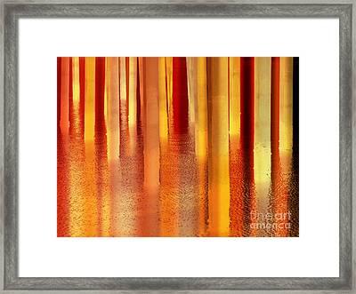Light On The Water Framed Print by Robert Ball