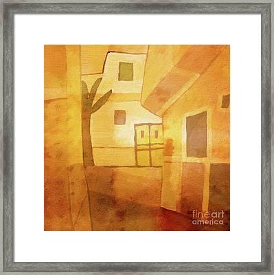 Light Over Egypt Framed Print by Lutz Baar