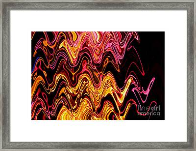 Light Painting 5 Framed Print by Delphimages Photo Creations