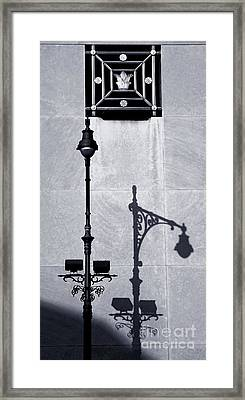 Light Post Revealed Framed Print by James Aiken