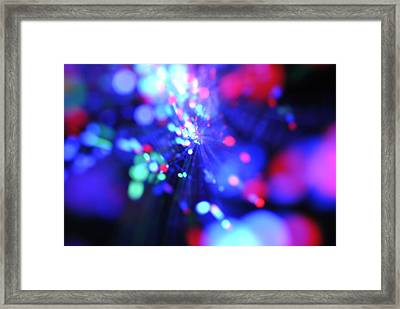 Light Show 1.1 Framed Print by Frederico Borges