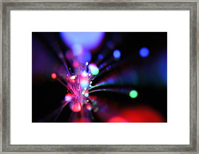 Light Show 1.3 Framed Print by Frederico Borges