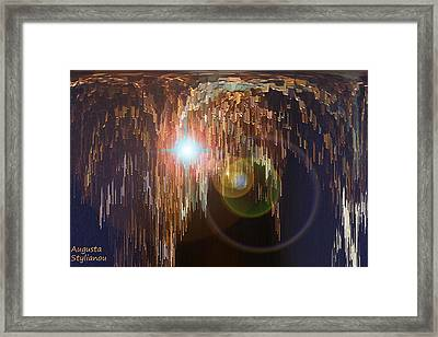 Light Shower Framed Print by Augusta Stylianou