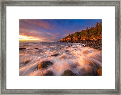 Light Surge Framed Print by Joseph Rossbach