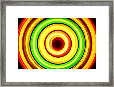 Light Trails Framed Print by Jijo George