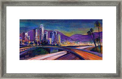 Light Up The Night Framed Print by Athena Mantle
