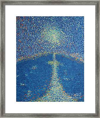 Light Upon The Water Framed Print by Stefan Duncan
