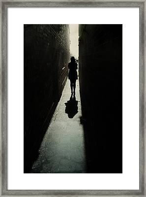 Light Framed Print by Cambion Art