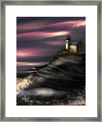 Lighthouse Framed Print by Dale   Ford