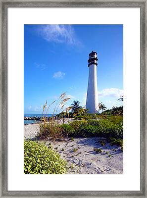 Lighthouse Framed Print by Mitch Cat