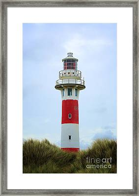 Lighthouse Newport Framed Print by LHJB Photography