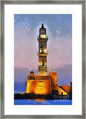 Lighthouse Framed Print by George Atsametakis