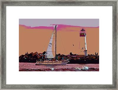 Lighthouse Tour 8940 Framed Print by Tom Kelly