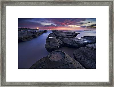 Lighthouse Framed Print by Yan Zhang