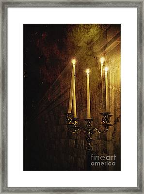 Lighting The Way Framed Print by Margie Hurwich