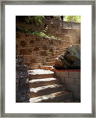 Lighting The Way Up Framed Print by Glenn McCarthy Art and Photography