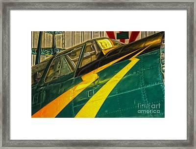 Lightning Bolts Framed Print by Gregory Dyer