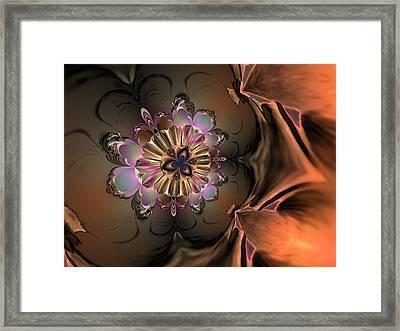 Lightning Bug Framed Print by Claude McCoy