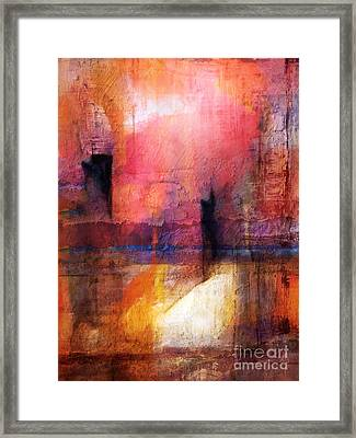 Lightroom Framed Print by Lutz Baar