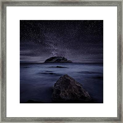 Lights Of The Past Framed Print by Jorge Maia