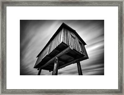 Lightshed Framed Print by Alexis Birkill