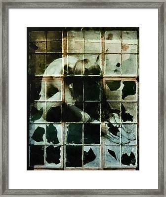 Like A Broken Window Framed Print by Gun Legler