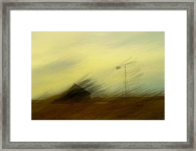 Like A Memory In The Wind Framed Print by Jeff Swan