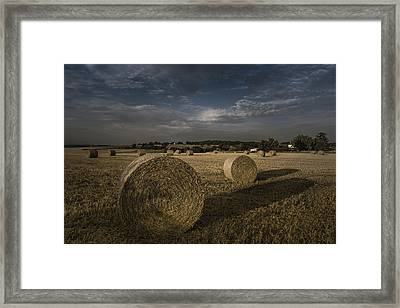 Like A Moonlight Shadow Framed Print by Chris Fletcher